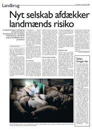 Læs artikel fra Børsen her - LandboSyd