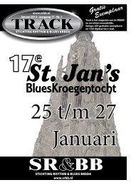 Track Januari 2013 - Stichting Rhythm & Blues Breda