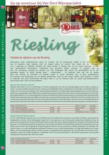Proeflijst - Van Dort Wijnspecialist