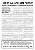Katrineholms Tidning träffade Nicklas Boman över en kopp kaffe på ... - Page 2