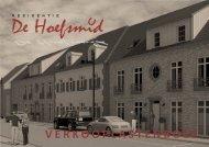 VERKOOPLASTENBOEK - Residentie De Hoefsmid