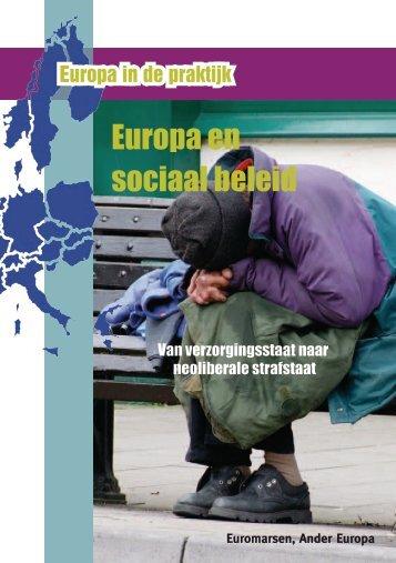 Europa en sociaal beleid - Ander Europa