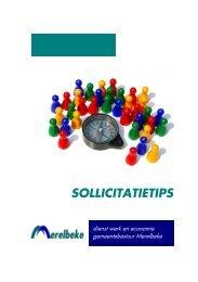 brochure 'Sollicitatietips'