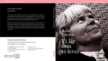 Vi lär som vi lever - Bodil Jönsson