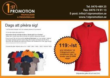 119:-/st - 1:st Promotion