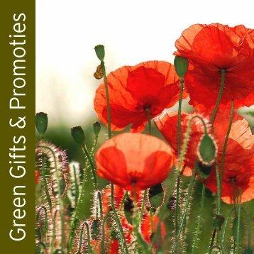 Green Gifts & Pomotions brochure ( Nederlands ) - Staro.net