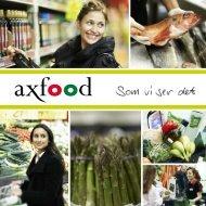 Broschyr om kärnvärden - Axfood