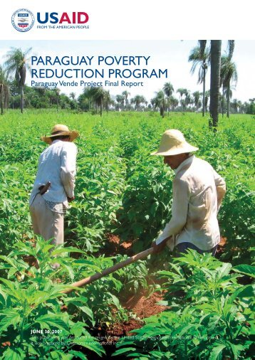 PARAGUAY POVERTY REDUCTION PROGRAM - USAID / Paraguay
