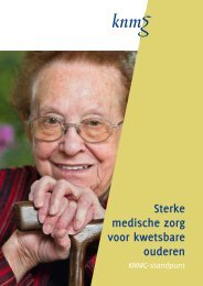 Sterke medische zorg voor kwetsbare ouderen - Transmuraal Netwerk
