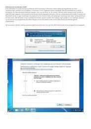 Lees hier Blik op Windows 7 > (PDF document) - Picto