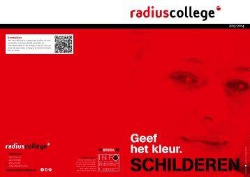 Geef het kleur. - Radius College