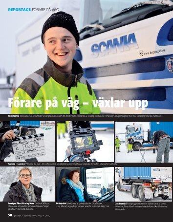 Pressklipp 2012 Nr 3 - Svensk Åkeritidning - Förare på väg