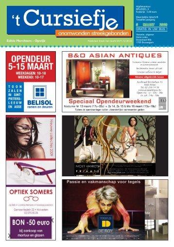 5 MAART 2009 Editie Merchtem - Opwijk - Cursiefje