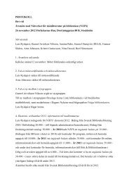 Protokoll årsmöte - NÄFS 2012