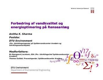 Minimering af miljøbelastning og forbedring af arbejdsmiljøet i ...