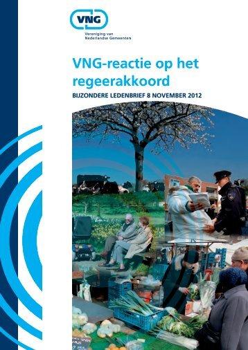 VNG-reactie op het regeerakkoord - Vereniging van Nederlandse ...
