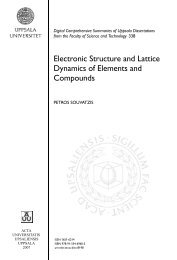 Electronic Structure and Lattice Dynamics of Elements and ...