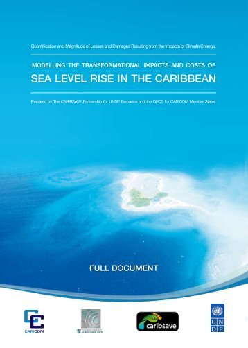 sea level rise in the caribbean - Caribsave