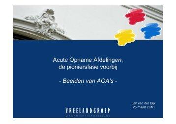 Download hier de presentatie. - acute opname afdeling