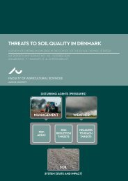 ThreaTS To Soil qualiTy in Denmark - Aarhus Universitet