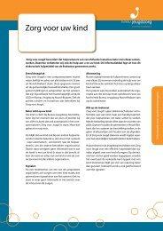 Zorg voor uw kind - Bureau Jeugdzorg Noord-Brabant