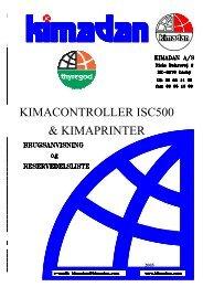 Kima controller ISC500 - Thyregod A/S