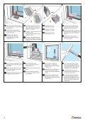 MONTERINGSANVISNING: GLASS I NORDAN ... - NorDan UK Ltd - Page 6