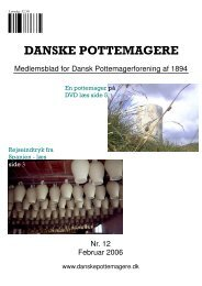 2006 - Medlemsblad nr. 12 - Pottemagere   Keramiker