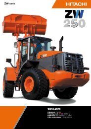 WIELLADER - Hitachi Construction Machinery