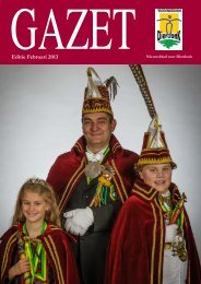 Editie Februari 2013 - Gazet - Dierdonk