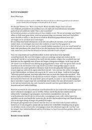 Wat is Waarheid - Theosofische Vereniging in Nederland