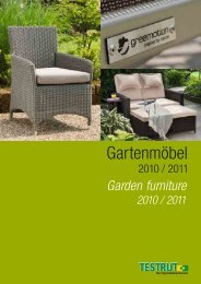 Gartenmöbel - Baltexport