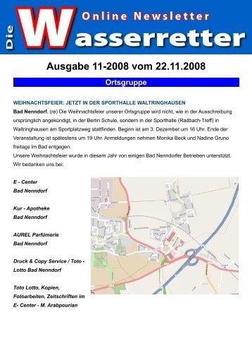 Ausgabe 11-2008 vom 22.11.2008 Ortsgruppe - DLRG OG Bad ...
