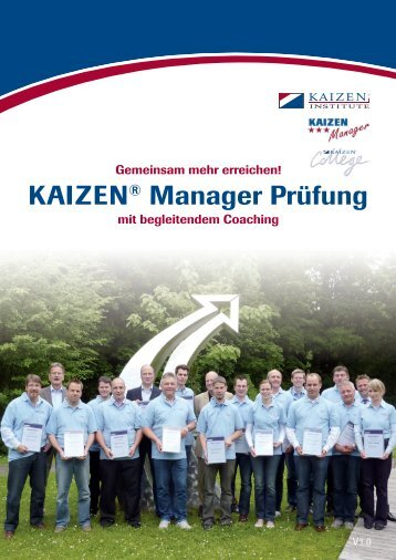 Download - beim KAIZEN Institute Deutschland