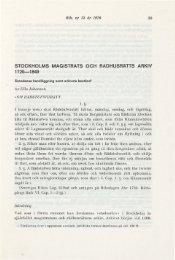 Stockholms magistrats och rådhusrätts arkiv - Tidigmoderna konkurser