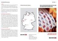 Baulicher Brandschutz und Schadstoffsanierung DE - Belfor