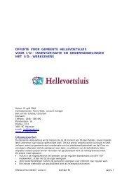 Hellevoetsluis offerte ID april 2004 (1).pdf - Welkom bij gemeente ...