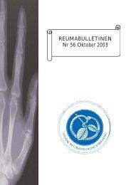 REU-bulletinen nr 56 - Svensk Reumatologisk Förening