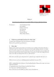 Referat af bestyrelsesmøde søndag den 23. november 2008 kl ...