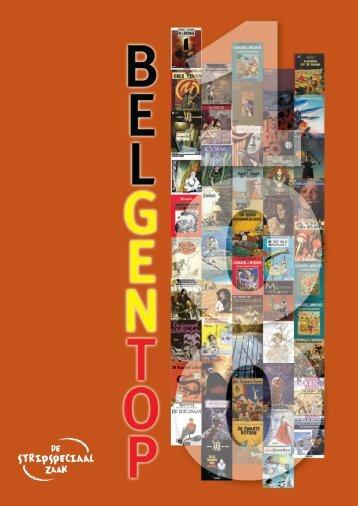 BelgenTop 100 - Stripspeciaalzaak.be