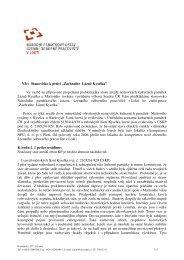 Projev NPÚ z Lokte - Zachraňte lázně Kyselka