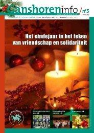 Het eindejaar in het teken van vriendschap en solidariteit - Ganshoren