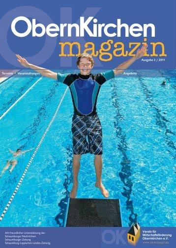 Ausgabe 2 / 2011 Termine • Veranstaltungen • Angebote