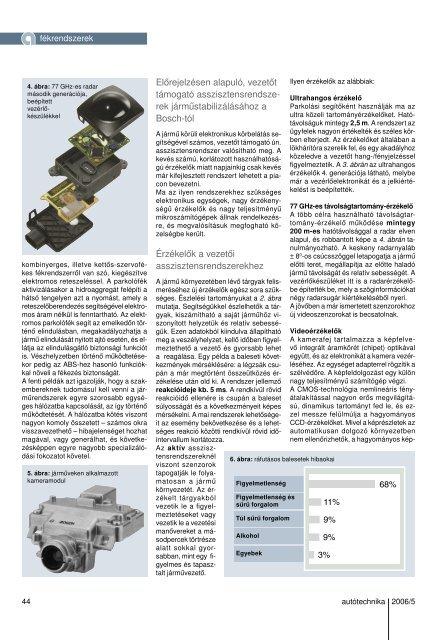 Fék- és asszisztensrendszerek továbbfejlesztése - Autótechnika