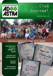 Clubjournaal nr. 6 september - GLTC Ad Astra