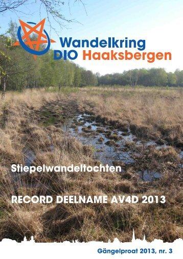 Clubblad - Wandelkring DIO