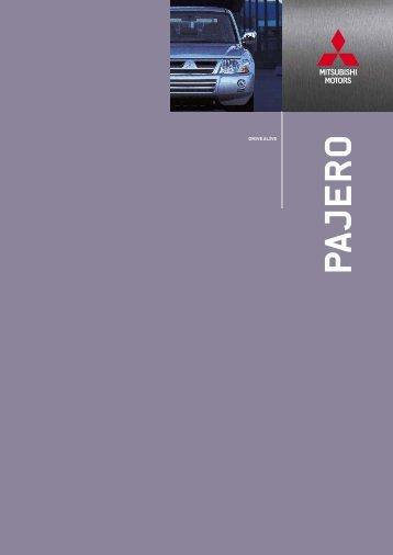 PAJERO - Mitsubishi Motors Netherlands
