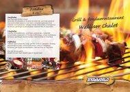 Klik hier voor de menukaart van het Walliser Chalet. - Snowworld