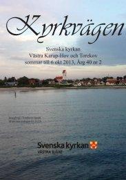 Svenska kyrkan Västra Karup-Hov och Torekov ... - Västra Bjäre
