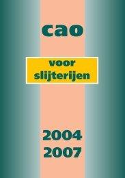 cao slijterijen 2002-2003 - Slijtersunie
